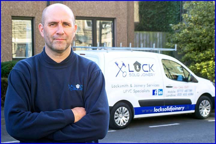 Edinburgh Joiner with his Van