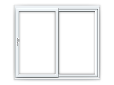 8ft uPVC Sliding Patio Door