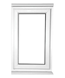 Small uPVC Casement Window