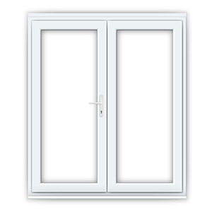Wide uPVC French Doors