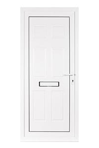 uPVC 6 Panel Front Door