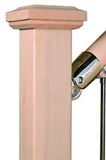 Hemlock Handrail and Post