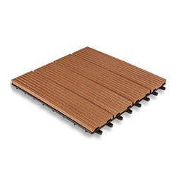 Interlocking Composite Decking Tile