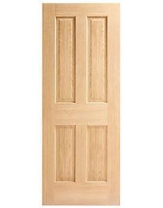 4 Panel Oak Veneer
