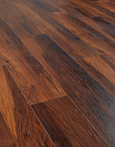 Reynosa Dark Hickory Laminate Flooring