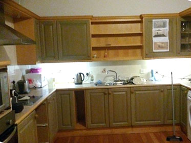 Kitchen worked on by joiner in Edinburgh