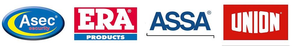 Assa Era Asec and Union Lock Logos