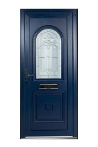 Blue uPVC Door