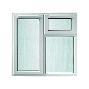 Obscure Glass uPVC Casement Window