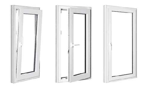uPVC Tilt and Turn Windows