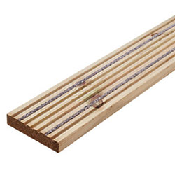 Non Slip Pine Decking Board