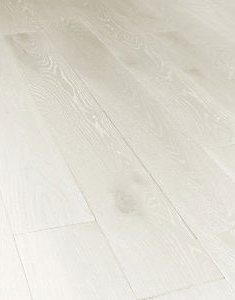 Prussian White Real Wood Top Layer Engineered Wood Flooring