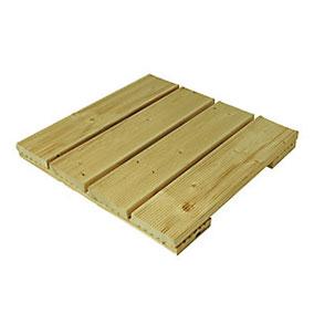 Natural Pine Decking Tile