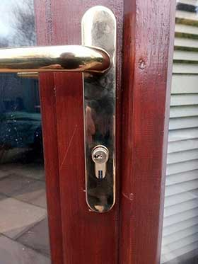 New Cylinder Lock fitted in Edinburgh