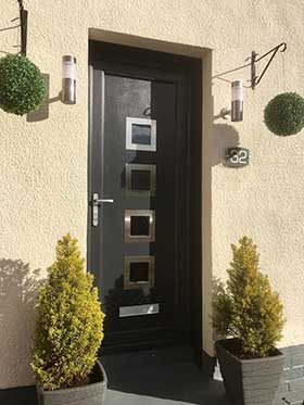 New uPVC Door Fitted in Edinburgh